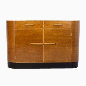Englisches Art Deco Eiche Sideboard