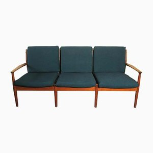 Dänisches Mid-Century Teak Sofa von Grete Jalk, 1960er