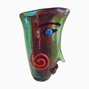 Vase en Verre de Murano de Pablo Picasso, Italie