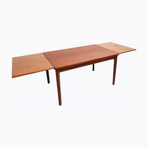 Danish Teak Dining Table from Am Möbler