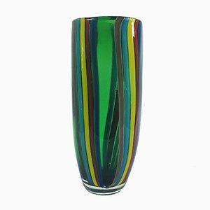 Grand Vase Mid-Century Moderne en Verre Murano, 1960s