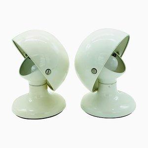 Jucker Tischlampe von Afra & Tobia Scarpa für Flos, 1960er
