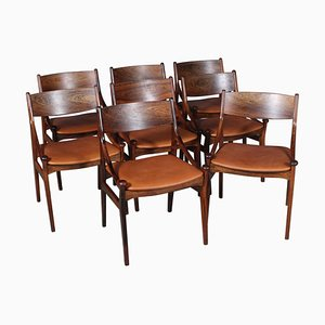 Dining Chairs by Vestervig Eriksen, Set of 8