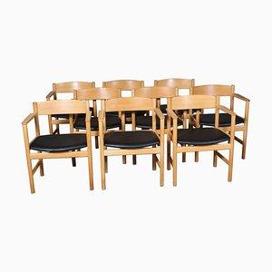 Modell 235 Armlehnstuhl von Børge Mogensen für Fredericia