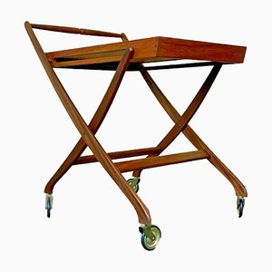 Teak Serving Cart by Svend Aage Madsen, 1960s