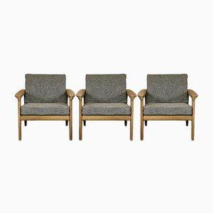 Stuhl aus Eiche von Arne Wahl Iversen für Komfort, 1960er