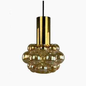 Deckenlampe von Helena Tynell für Glashütte Limburg, 1960er
