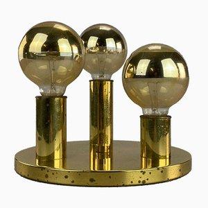 Brass Ceiling Lamp from Schmitz, 1960s