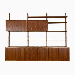 Teak Wall Unit by Poul Cadovius for Cado, 1960s