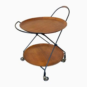 Teak Trolley by Jie Gantofta, 1960s