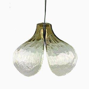 Deckenlampe aus Muranoglas von Carlo Nason für Kalmar, 1960er