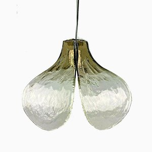 Murano Glass Ceiling Lamp by Carlo Nason for Kalmar, 1960s