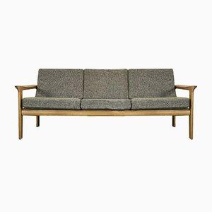 Dänisches Eichenholz Sofa von Arne Wahl Iversen für Komfort, 1960er