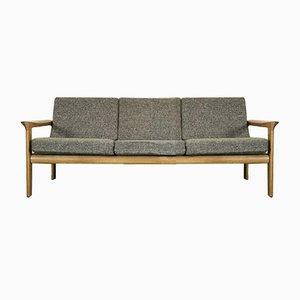 Danish Oak Sofa by Arne Wahl Iversen for Komfort, 1960s