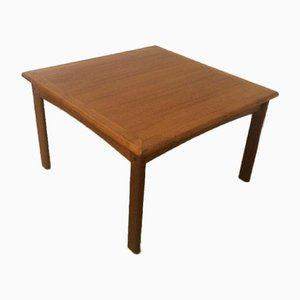 Danish Teak Side Table or Coffee Table, 1970s