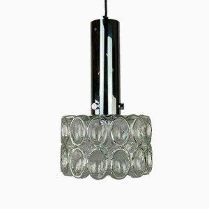 Glass Ceiling Lamp from Glashütte Limburg, 1960s or 1970s