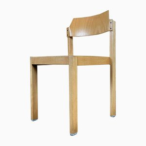 Wooden Stacking Chair from Schlapp, 1970s