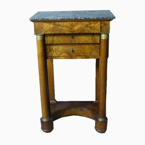 Empire Period Bedside Table