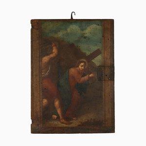 Cristo Portacroce, Oil on Panel