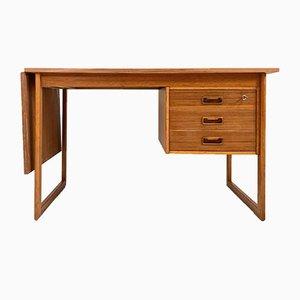 Dänischer Ausziehbarer Vintage Teak Schreibtisch von Arne Vodder für VI-Ma Møbler