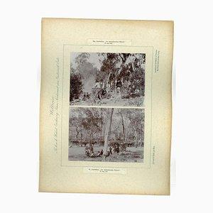 Photographie Vintage de la Rivière Wallendelly en Australie, 1893
