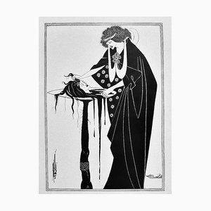 Salomé, Illustrated Book di AV Beardsley, 1907