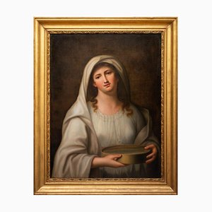 Luigi Cochetti, Vestale Tucci, Oil Painting, 1844