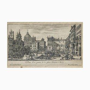 Giuseppe Vasi, Spiaggia detta La Regola, Radierung, 1747
