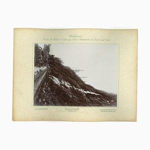 Columbia River, Echo Falls and Palisades, Vintage Photograph, 1893