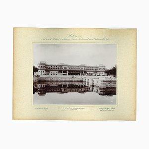 Ulwar, Maharaja & Palace, Original Vintage Photo, 1893