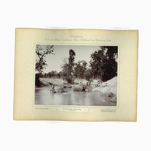 Nepal, Cattani Camp, Original Vintage Photo, 1893