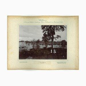 Ceylon Kalawewa, Original Vintage Photo, 1893