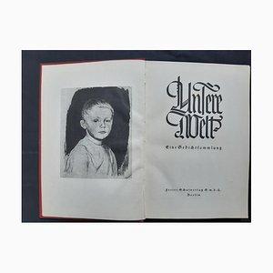 Käthe Kollwitz, Our World, Rare Book, 1928