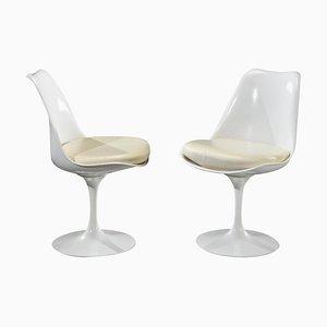 20th Century Tulip Chairs from Eero Saarinen & Knoll, Set of 2