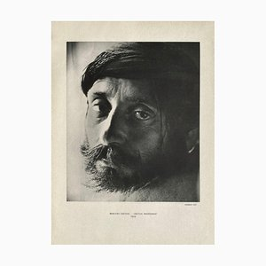Portrait of a Cretan Shepherd by Herbert List from Revue Verve