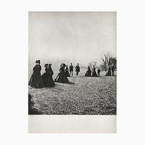 Walk in the Park by Eugene Disderi,1860 by Revue Verve