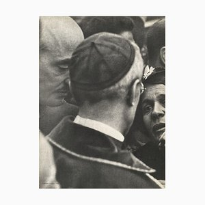 Cardinal Pacelli in Paris by Henri Cartier-Bresson,1937 by Revue Verve