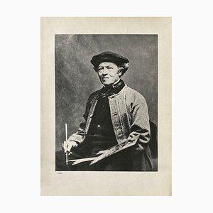 Camille Corots Portrait by Mathew Brady for Revue Verve