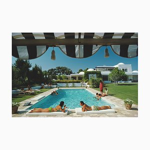 Poolside in Sotogrande, Slim Aarons, 20th Century, Photography