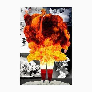 Teller Nr. 251, Abstrakt, Collage