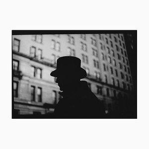 Untitled # 7, Mans Hat aus New York, Street Photography, Giacomo Brunelli, 2018