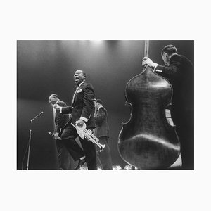 Louis Armstrong on Stage, 20th Century, Photography