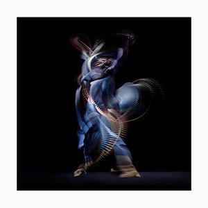 Abstract Dancers, Dunkelblau 4, 2019, Fotografie