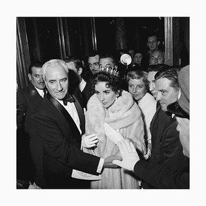 Liz in Furs, 1957, 20th Century, Fotografie, Elizabeth Taylor