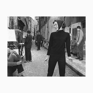 Audrey in Paris, 1956