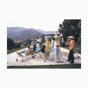 Junto a la piscina Social, Slim Aarons, siglo XX