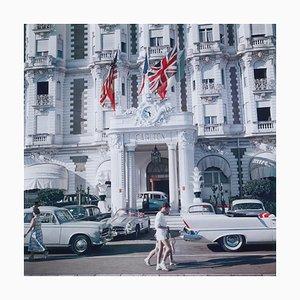 Carlton Hotel, Slim Aarons, 20ème Siècle, French Riviera
