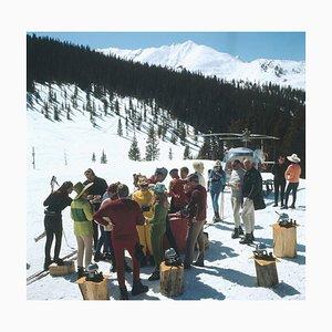 Snowmass Picknic, Slim Aarons, 20th Century, Snow