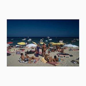 St. Tropez Beach, Slim Aarons, 20th Century, Beach View