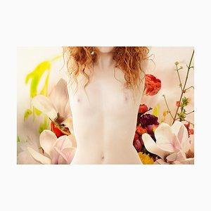 Flora 13, Fotografie, Weiblicher Akt, Mohn, 2015